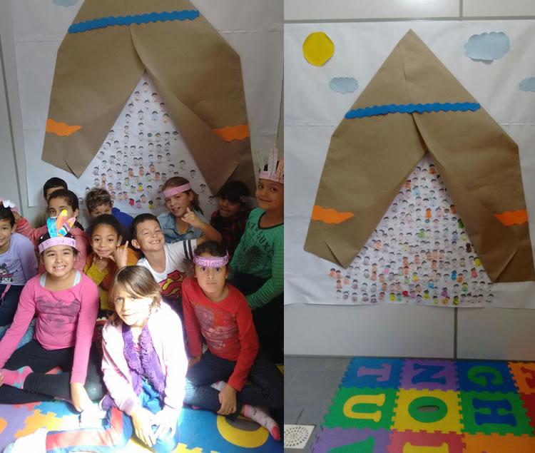 Comemoração a datas festivas no Projeto Educa