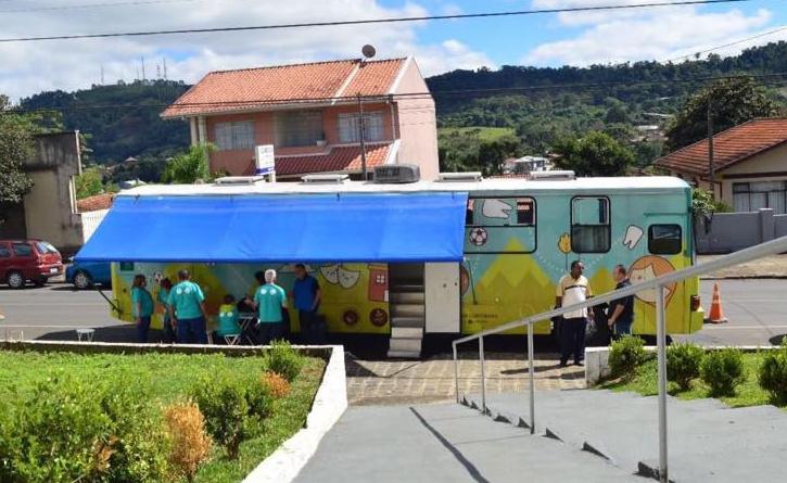Linha da Vida na cidade de Irati, no sudeste do Paraná
