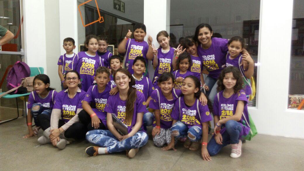 Crianças do projeto Educa ganham participação em Colônia de Férias da Igreja Batista do Bacacheri