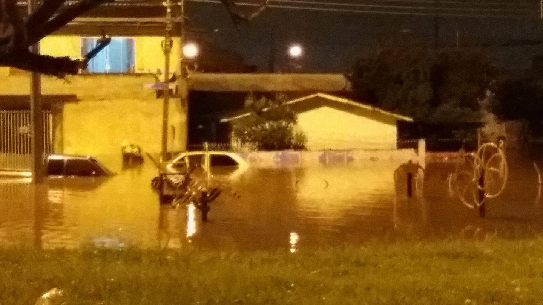 Ajuda emergencial para as famílias atingidas pela enchente em Curitiba