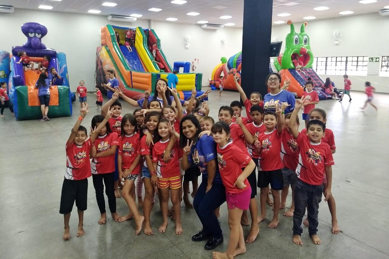 Crianças do Projeto Educa participam de Colônia de Férias da IBB